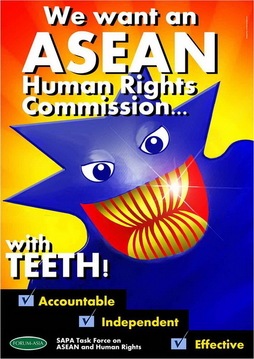 Asean Human Rights Commission without Teeth