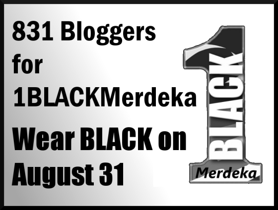 Bloggers4BlackMerdeka 2